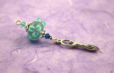 Blessingway bead - Turquoise Sea Flower Goddess: https://www.etsy.com/listing/176929018/blessingway-bead-turquoise-sea-flower