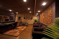 Studio Design and Acoustic Consulting - Wes Lachot Design Studio Room Design, Home Studio Desk, Studio Interior, Music Studio Decor, Home Studio Music, Sound Studio, Design Ikea, Home Music Rooms, Recording Studio Design