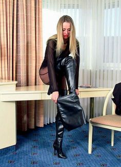Leather, Humiliation and beautiful girls: Photo