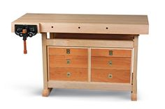 Maple and Cherry Workbench