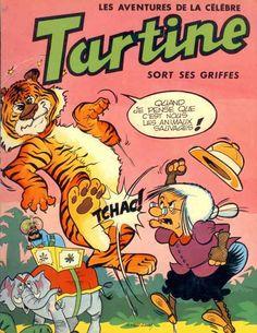 Tartine Mariol, Nonna Abelarda en italien, plus connue sous le nom de Tartine est une série italienne créée en 1955 dans la revue Trottolino. C'est une grand-mère à la force herculéenne et à l'énergie sans limite dont le seul point faible est son cor au pied gauche. Elle vit dans le royaume de Fantasia dont le roi est le gentil roi Toto II (Soldino en Italie) qu'elle protège de son oncle le duc de la Frite.......SOURCE WIKIPEDIA.ORG.........