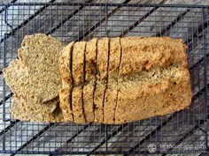 As you may have guessed, there is no rye used in this bread - I avoid using any sort of grains. Instead, this recipe relies on flaxmeal and coconut flour. I've never really liked the taste of most flax breads, but this one tastes great! It made me realise how little changes make a big difference. It tastes great with grass-fed ...