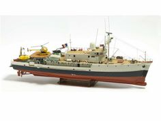 Billing Boats (B560) Calypso Research Ship - Model Boat & Fittings, Probably the Best Static and Radio Control Model Boat Kits in the World - www.BillingBoats-Direct.com