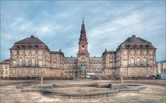Christiansborg Castle - The Danish Parliament, Copenhagen, Denmark Castle House, Copenhagen Denmark, Royal Palace, Architecture Old, Faroe Islands, Beach Pictures, Capital City, Barcelona Cathedral, Places Ive Been