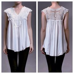 New collection  Cathy lace top IDR 205,000