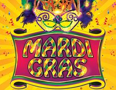 """Check out new work """"Mardi Gras FREE PSD Flyer Template"""" #event #party #mardigrass #festival"""