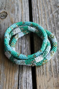Lily and Laura Shannon bracelets - made by women in Nepal