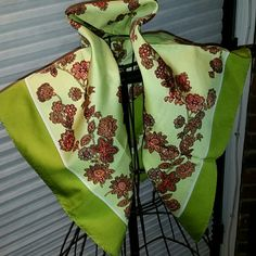 Vintage Scarf!!! Made in Italy Expressly for Alexander's Accessories Scarves & Wraps