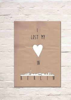 I lost my heart in Berlin von Haus nr.26 auf DaWanda.com