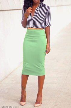 pencil skirt   1950's retro fashion vintage inspired