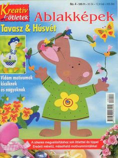 revista ablakkepek no. 4 - pkt sm - Picasa Web Albums..BOOK AND PATTERNS! School Projects, Projects To Try, Crafts To Make, Crafts For Kids, Magazine Crafts, Magazines For Kids, Album Book, Book Quilt, Book Folding