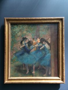 If you love fine arts, especially impressionism, go check out the Musée d'Orsay. Compared to Louvre, everything is so well organized by style and by time period. On the fifth floor, there is a whole exhibition of impressionism, including the paintings of Monet, Manet, Degas..etc.