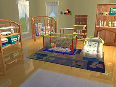 Mod The Sims - The 3000 Totts Baby's Dream