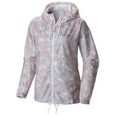Columbia Vintage Pink Print Flash Forward Printed Windbreaker -... ($50) ❤ liked on Polyvore featuring activewear, activewear jackets, vintage pink print, columbia activewear, vintage sportswear, columbia, pink sportswear and columbia sportswear