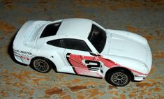 Vintage Toys Hot Wheels White Race Car Hi Bank by TheBackShak, $3.50