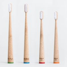 The Mable bamboo toothbrush is eco chic: stylish, self standing, and convenient. Choose a natural lifestyle today with our Mable Club membership.
