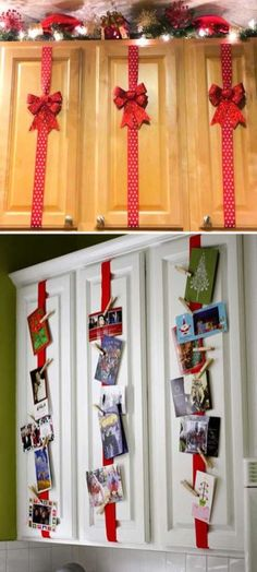 Easy And Inexpensive Kitchen Decoration Ideas For Christmas 21
