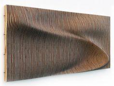 Risultati immagini per rippling wood facade