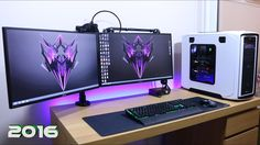 Ultimate Clean Gaming Setup 2016, How Do I Manage My Cable Management Gu...