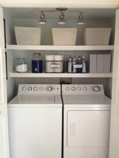 """Outstanding """"laundry room storage diy budget"""" info is offered on our internet site. Check it out and you wont be sorry you did. Rustic Laundry Rooms, Farmhouse Laundry Room, Small Laundry Rooms, Laundry Room Organization, Laundry Room Design, Storage Organization, Basement Laundry, Farmhouse Decor, Farmhouse Style"""