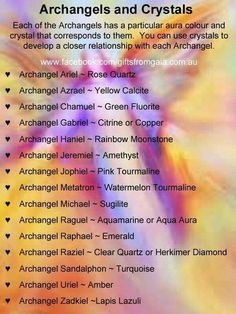Archangels & Crystals