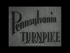 This documentary, produced by the Portland Cement Association, describes the construction and utility of The Pennsylvania Turnpike, completed October, 1940, ...