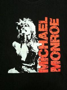 Vintage Michael Monroe Not Fakin It Tour T-Shirt