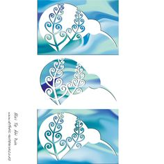 Maori Art - Kiwi Trio Polynesian Tattoo Designs, Maori Designs, Maori Patterns, Zentangle Patterns, Stencil Art, Stencils, Maori Words, New Zealand Tattoo, Zentangle