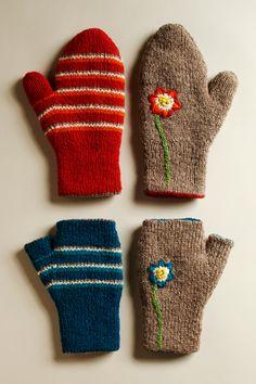Cotton & Cloud - Reversible Glove Pattern | Knitting Pattern | Seamless Knitting Pattern