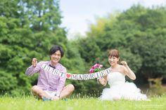 【大阪 結婚式 前撮り】自然なポーズで二人で過ごす和やかな休日 | 結婚式の写真撮影 ウェディングカメラマン寺川昌宏(ブライダルフォト)