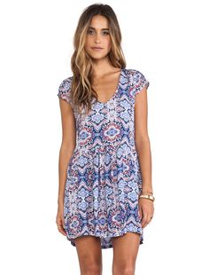 Tigerlily Vienne Dress in Paisley | REVOLVE