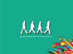 363038. Peça para promover a coleção Soul Collection de tênis e alpargatas da marca Havaianas.  Original: http://www.pimentarosa.net/wp-content/uploads/2010/06/02.jpg