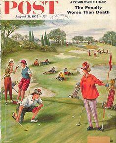 The Saturday Evening Post August 31 1957 Constantin Alajalov Vintage Americana