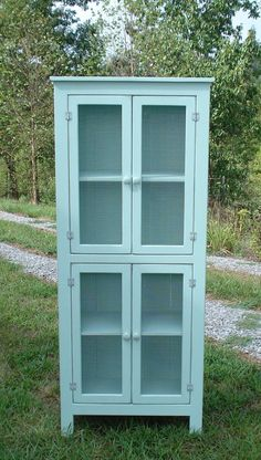 Pantry Storage Cabinet Pie Safe Sideboard Pantry by KKFurniture