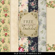 New Freebies Old Style Fabrics Kit