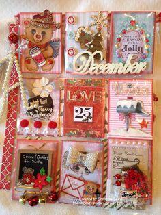 "Christmas Pocket Letter ""Christmas Cheer"" by Christina Betts"