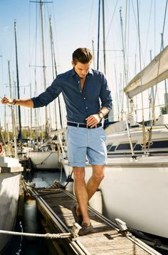 Well-built, well-dressed, owns a sailboat. Santa, you know what to do...
