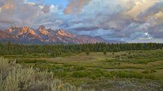 Grand Teton Sunrise, Jackson Hole, Wyoming by Daryl L. Hunter on 500px