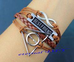 Infinity bracelets and best friends of harry potter by eternalDIY, $5.59