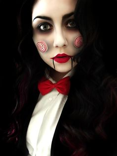 Saw Make Up - Creative and Creepy