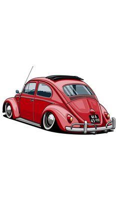 54 Best Bug Cartoon Images Bug Cartoon Car Illustration