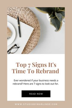 Ever wondered if your business needs a rebrand? Good branding is crucial for your business success so I have listed 7 signs to know if it's time to rebrand your business, click to read. Branding Your Business, Business Tips, Online Marketing Strategies, Media Marketing, Best Entrepreneurs, Entrepreneur Inspiration, Digital Marketing, Seo Basics, Web Design