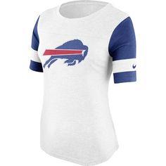 Buffalo Bills Nike Women's Stadium Fan Top - White