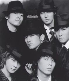 The very very first picture of Shinhwa I ever saw. This is what started my frenzy.