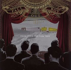 Fall Out Boy From Under The Cork Tree album cover Which Fall Out Boy album is your favorite??  Repin your favorite!!