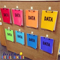 Teaching Special Thinkers: Color Coding Your Classroom For MAXIMUM ORGANIZATION