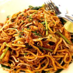 Mamak noodles by Malay Village, supermall, surabaya-east Java, Indonesia