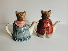 Vintage Otagirl Г-н & г-жа Усы Набор из двух кошку PrimaTreasures