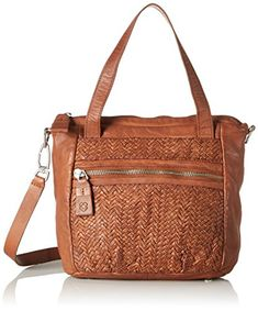 a42258365b09d Liebeskind Berlin Women s Paria Handwoven Leather Satchel