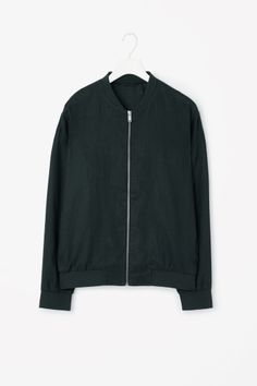 Hemp zip-up jacket